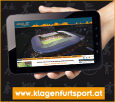 Button Links zur Homepage von Klagenfurtsport